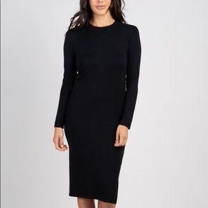 Zara thick black sweater dress.
